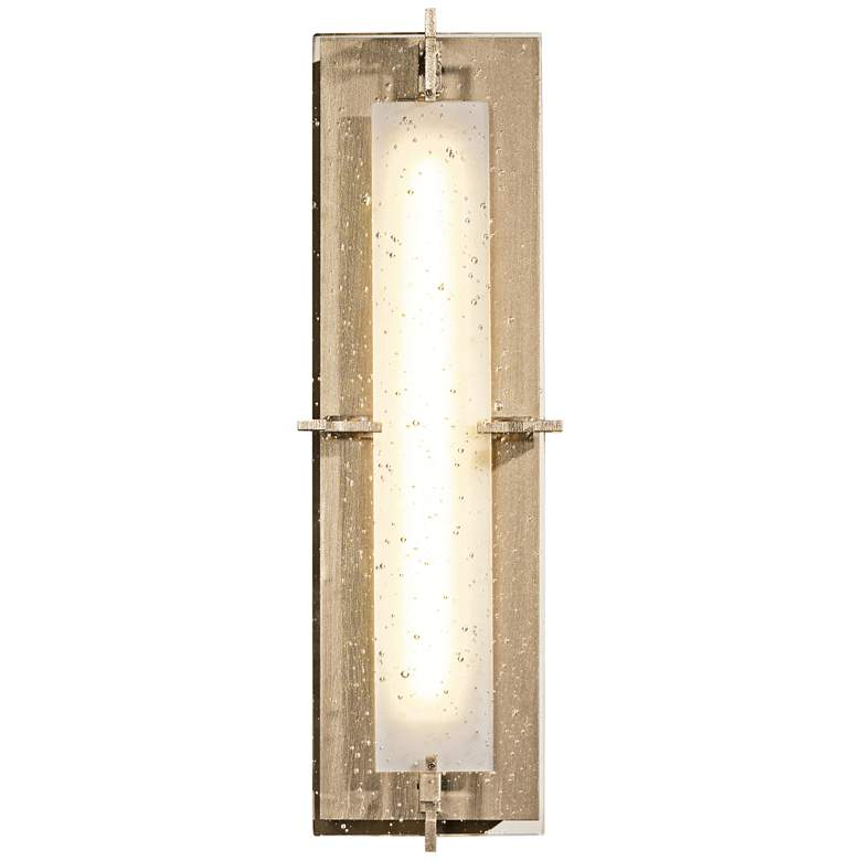 """Hubbardton Forge Ethos 18 1/4""""H LED Soft Gold Wall Sconce"""