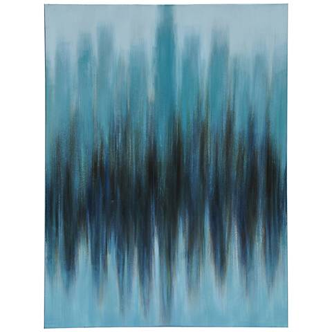 """Detected 47"""" High Canvas Wall Art"""