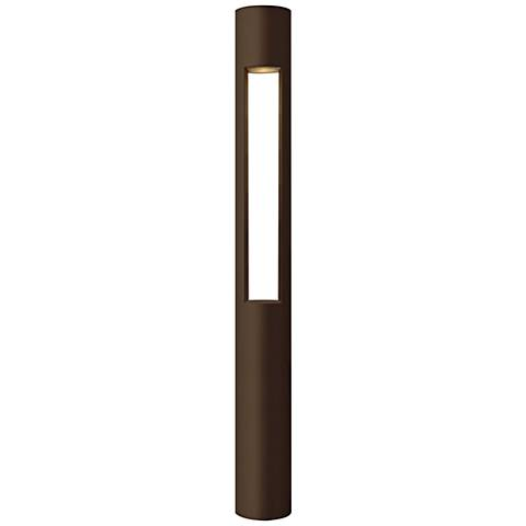 "Hinkley Atlantis 30""H LED Bronze Bollard Landscape Light"