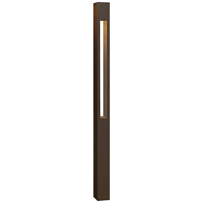 "Hinkley Atlantis 30"" High LED Bronze Square Bollard"