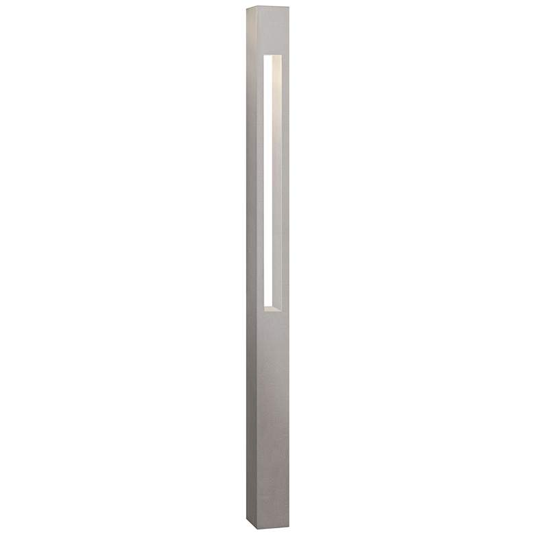 Hinkley Atlantis Titanium Square Bollard Landscape Light