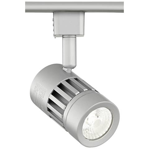 Leland Silver LED Grooved Track Head for Juno Track Systems