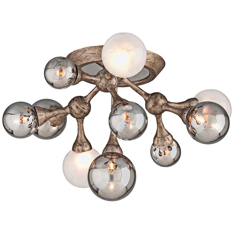 "Corbett Element 22 3/4"" Wide Bronze 10-Light Ceiling Light"