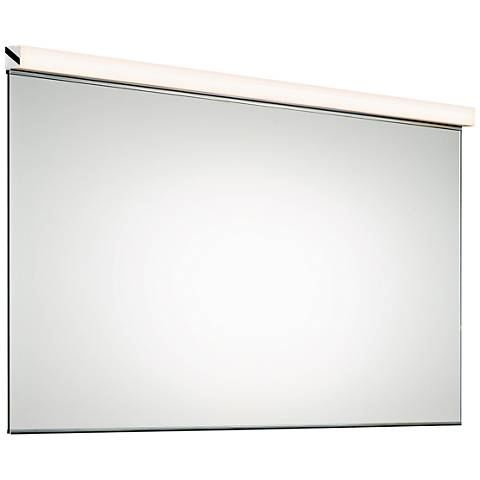 "Sonneman Slim 48 1/4""x25 3/4"" Mirror with LED Light"