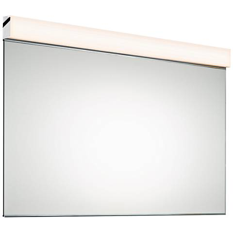 """Sonneman Wide 48 1/4"""" x 27 1/4"""" Mirror with LED Light"""