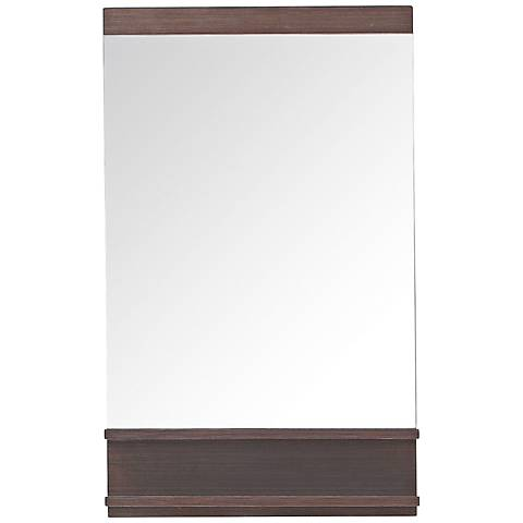 """Avanity Milo Iron Wood 21 3/4""""x35 1/2"""" Vanity Mirror"""