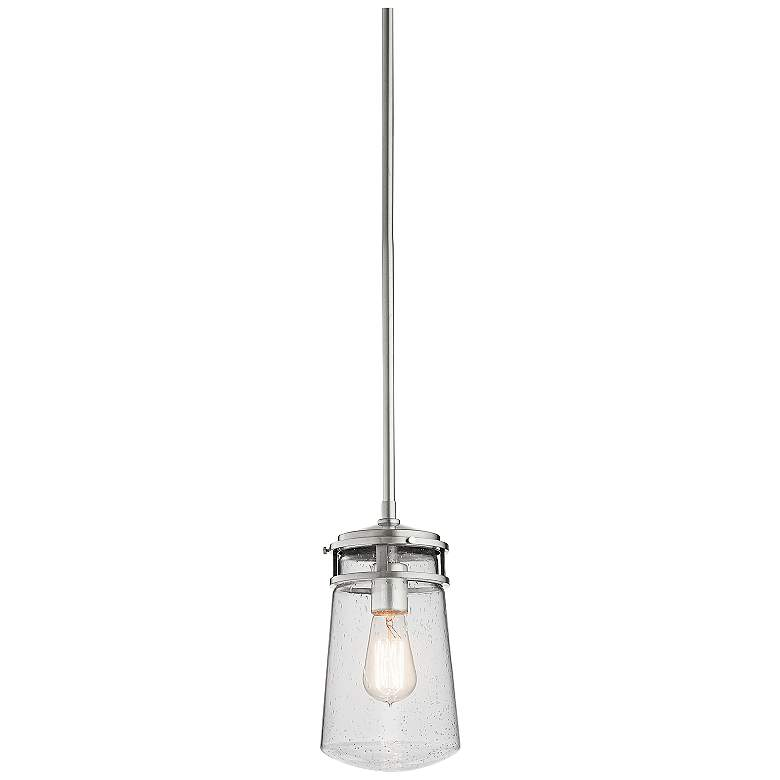 "Kichler Lyndon 11 3/4""H Aluminum Small Outdoor Hanging Light"