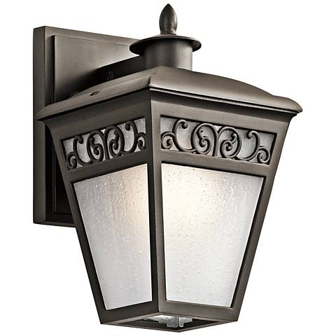 "Kichler Park Row 10"" High Olde Bronze Outdoor Wall Light"