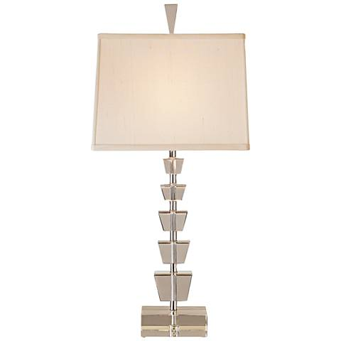 Currey and Company Moonglow Optic Crystal Table Lamp