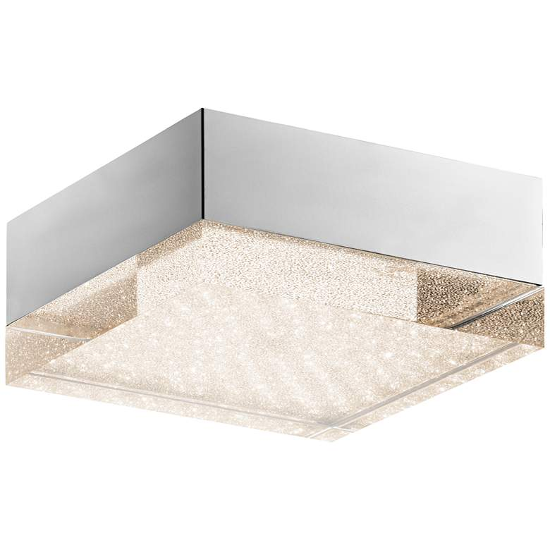 "Elan Gorve 10 1/4"" Wide Chrome LED Ceiling"