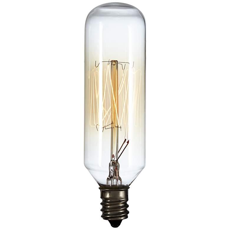 60 Watt T8 Edison Style Candelabra Base Light Bulb