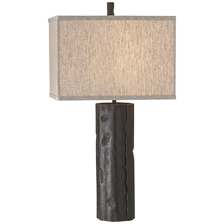 Currey and Company Caravan Mole Black Table Lamp