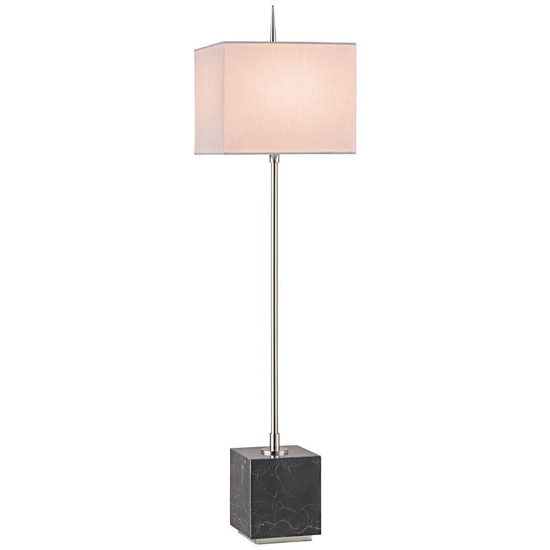 Currey and Company Thompson Black Nickel Console Table Lamp