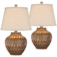 Accent table lamps lamps plus buckhead bronze small urn accent table lamp set of 2 aloadofball Gallery