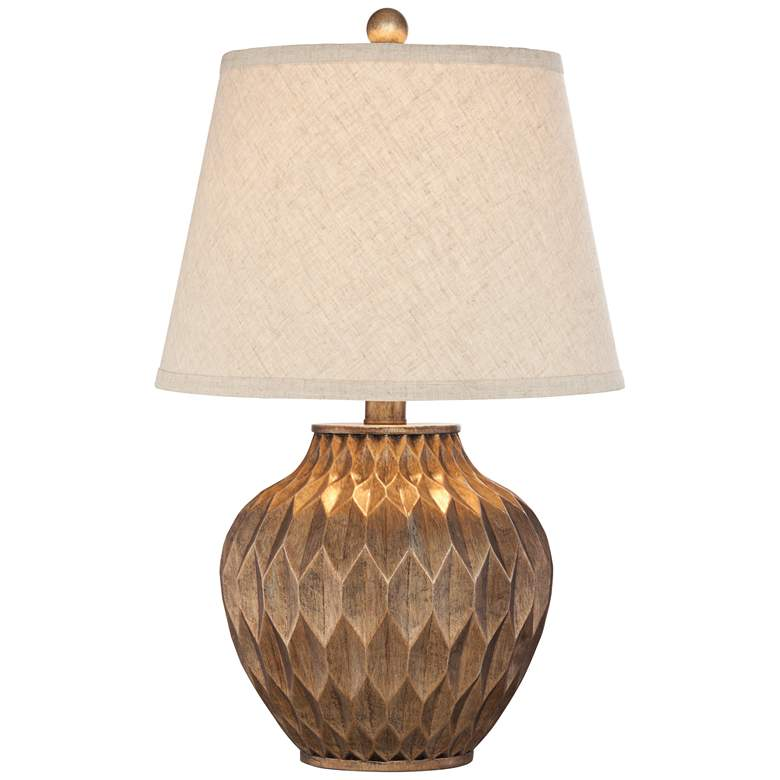"Buckhead Bronze 22"" High Accent Urn Table Lamp"
