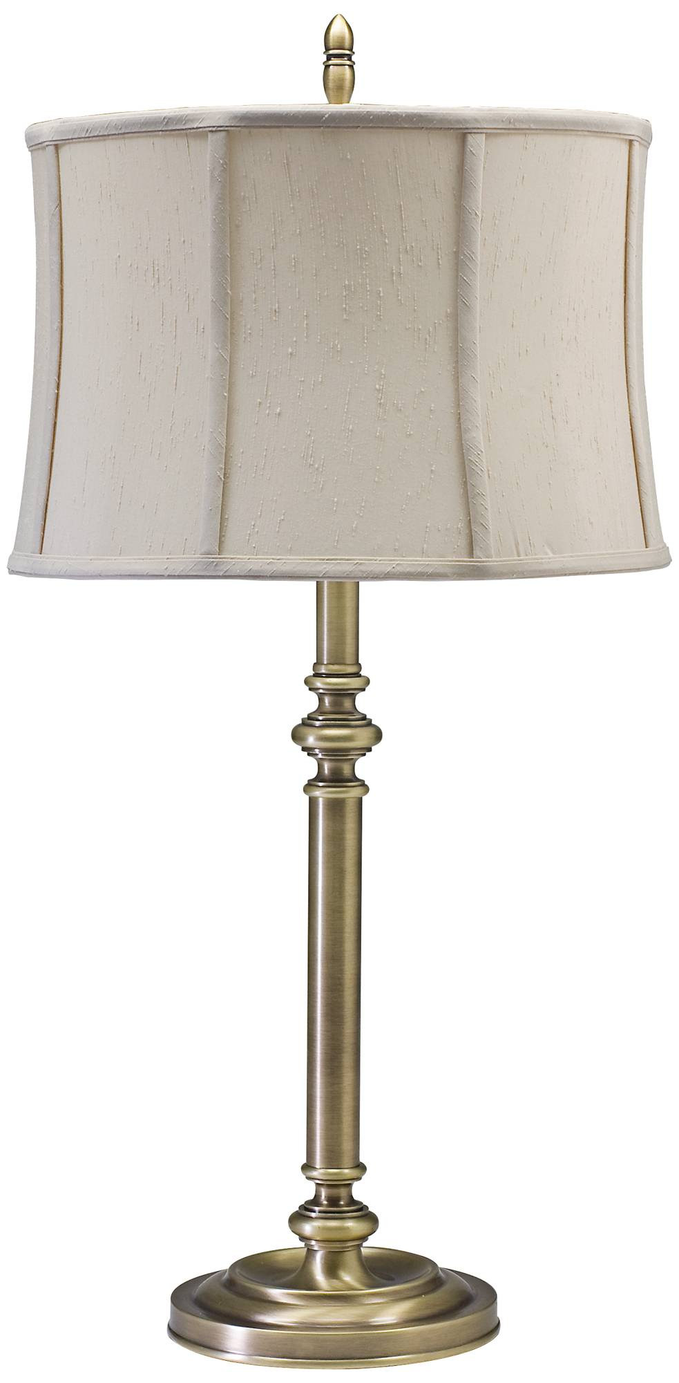 House of troy coach antique brass table lamp