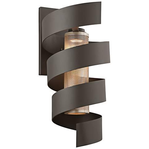 """Vortex 24"""" High Bronze Outdoor LED Wall Light"""