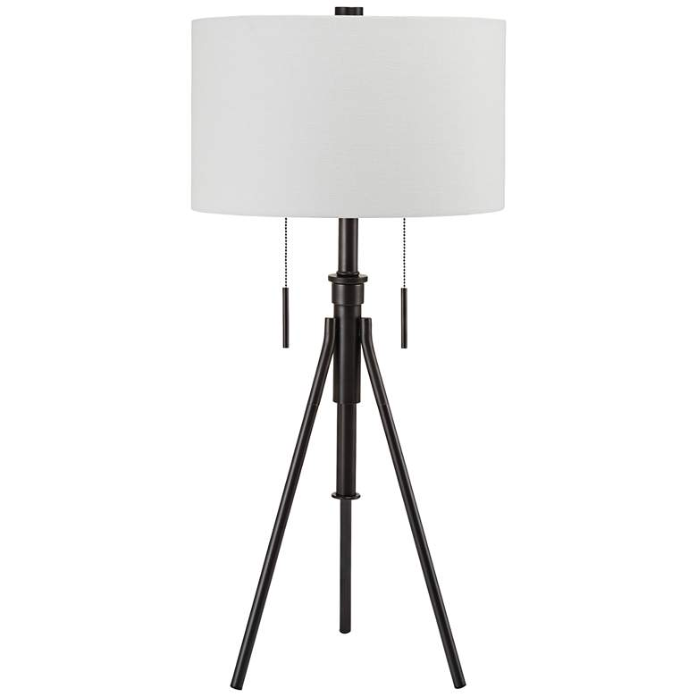 Mantis Adjustable Oil Rubbed Bronze Tripod Table Lamp