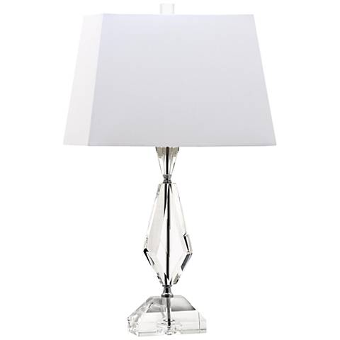 Duchess Faceted Diamond Crystal Table Lamp
