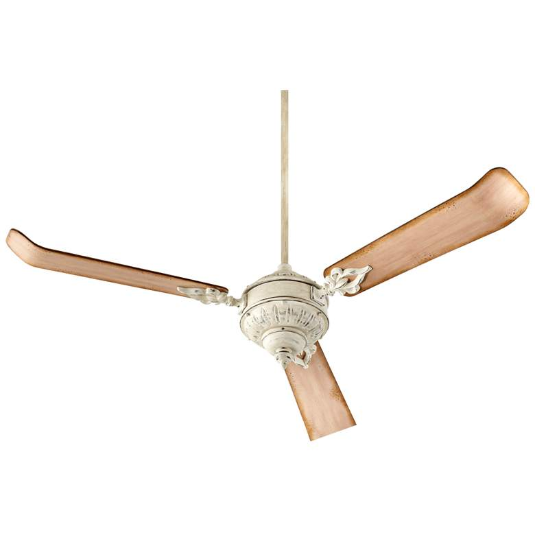 "60"" Quorum Brewster Persian White Ceiling Fan"
