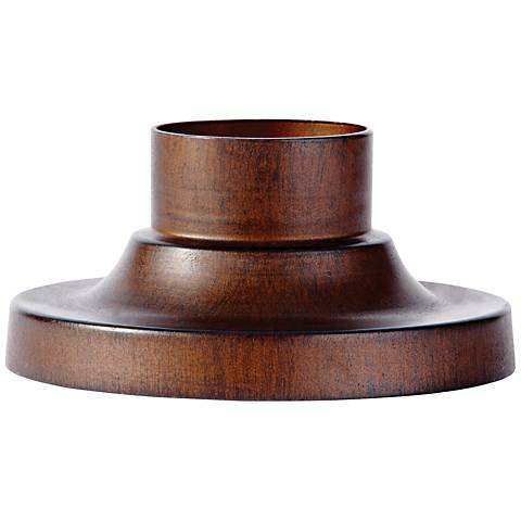 Feiss Pier-Mount Sorrel Brown Outdoor Post Light Adapter