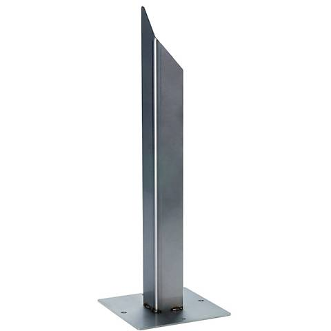 Galvanized Steel Outdoor Square Earth Spike for Rusty