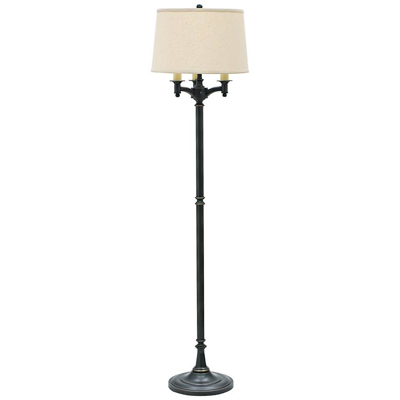 House of Troy Lancaster 6-Way Oiled Bronze Floor Lamp