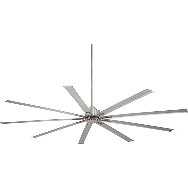 """72"""" Minka Aire Xtreme Brushed Nickel Ceiling Fan"""