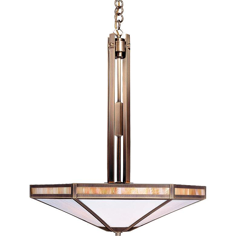 "Etoile 21"" Wide Pendant Light by Arroyo Craftsman"