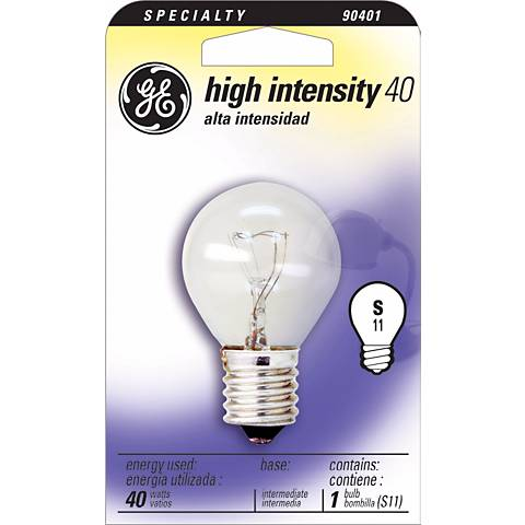 GE 40 Watt High Intensity Bulb