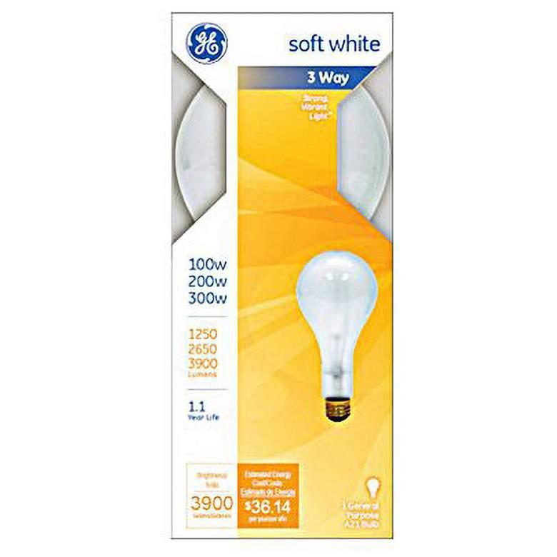 GE 3-Way 100-200-300 Watt PS25 Mogul Base Light Bulb