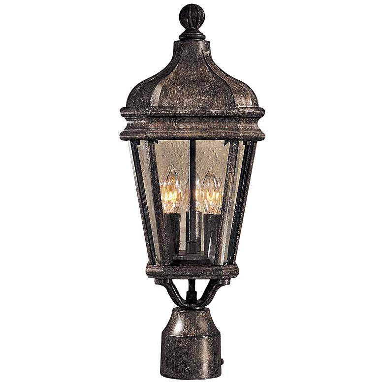 """Harrison Collection 20"""" High Post Mount Outdoor Light"""