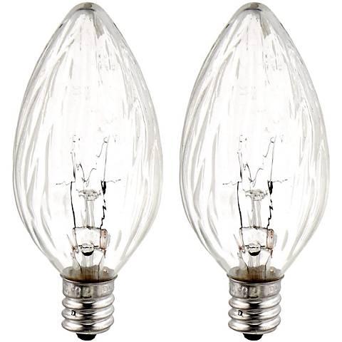 Ge 15 Watt 2 Pack Candelabra Light Bulb