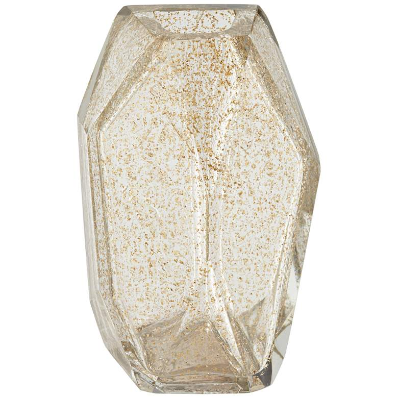 "Ashendon 7 3/4"" High Smoke Transparent Glass Decorative Vase"