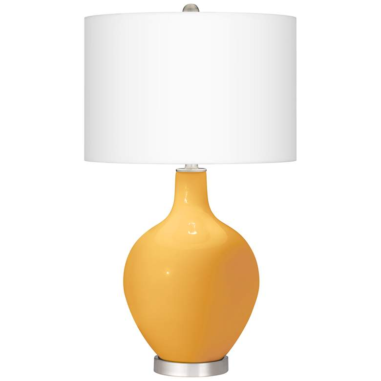 Marigold Ovo Table Lamp from Color Plus