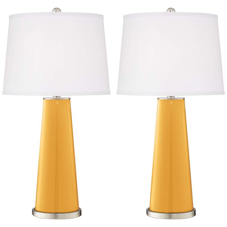 Marigold Leo Table Lamps Set of 2 from Color Plus