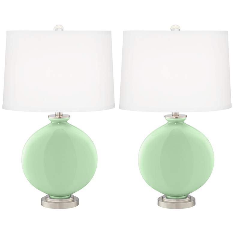 Flower Stem Carrie Table Lamps Set of 2 from Color Plus