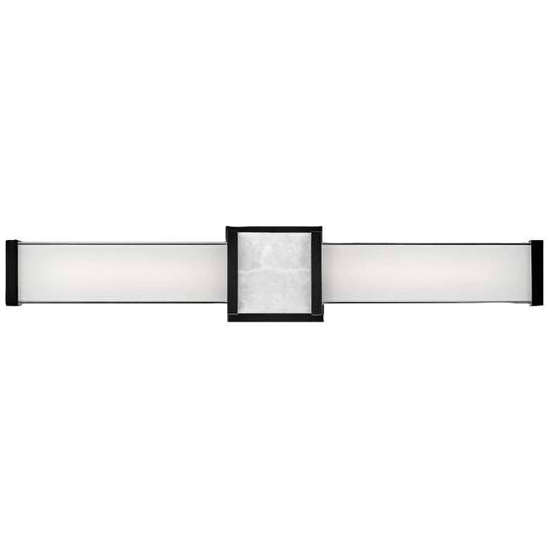 "Hinkley Pietra 24 3/4"" Wide Black LED Bath Light"