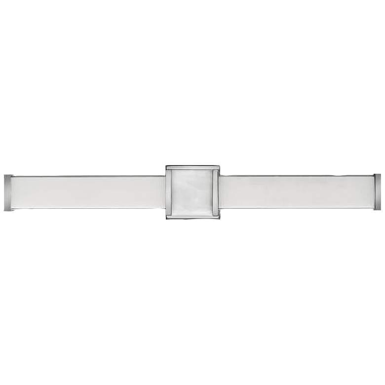 "Hinkley Pietra 30 3/4"" Wide Chrome LED Bath Light"