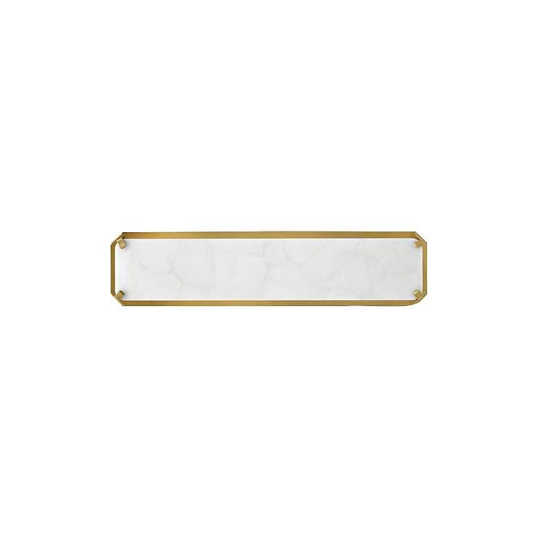 "Hinkley Serene 20"" Wide Heritage Brass LED Bath Light"