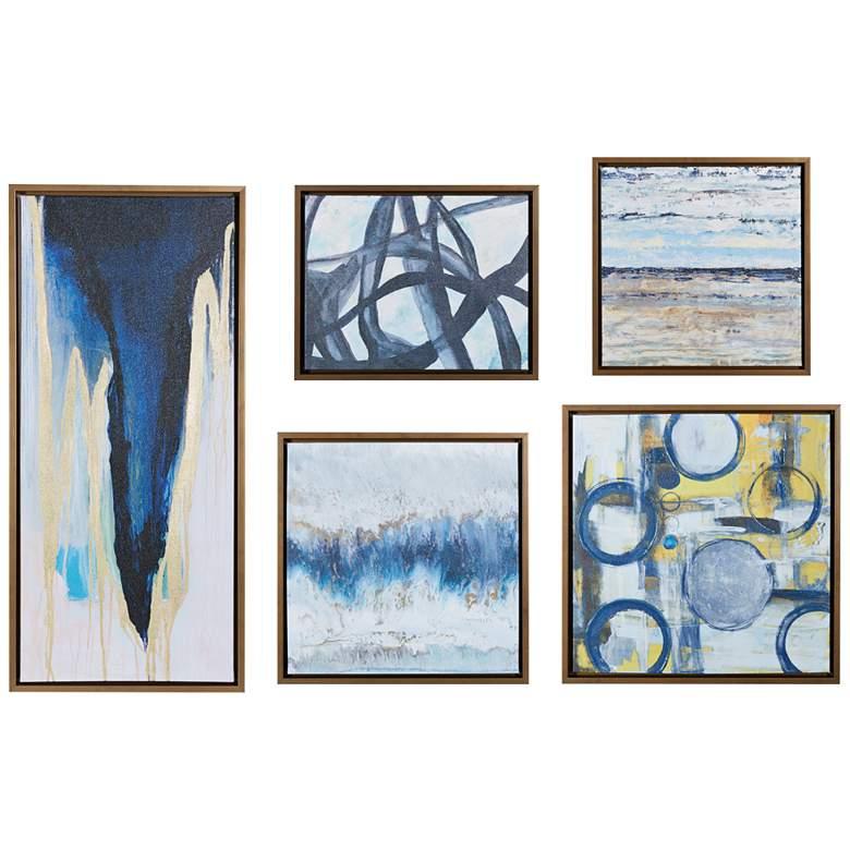 Bliss 5-Piece Gel Coated Gallery Art Set