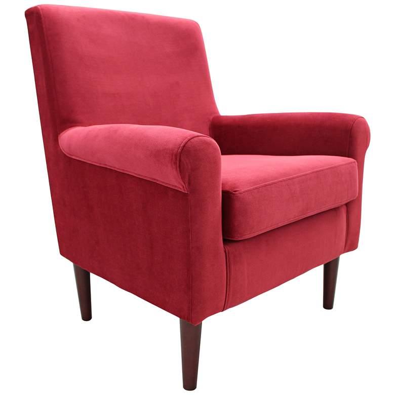 Ellis Berry Fabric Lounge Chair