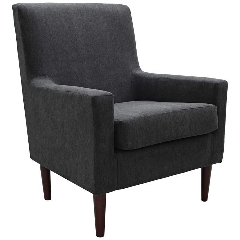 Emma Chalkboard Fabric Lounge Chair