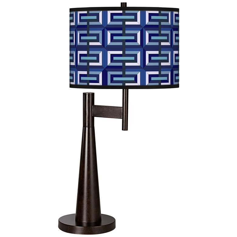 Parquet Giclee Novo Table Lamp