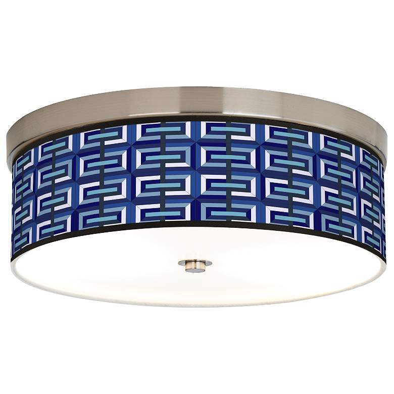 Parquet Giclee Energy Efficient Ceiling Light