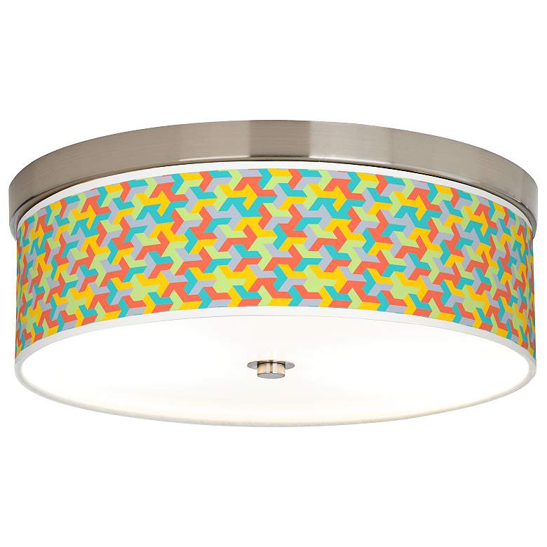 Color Sprint Giclee Energy Efficient Ceiling Light