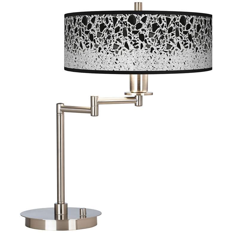 Terrazzo Giclee CFL Swing Arm Desk Lamp