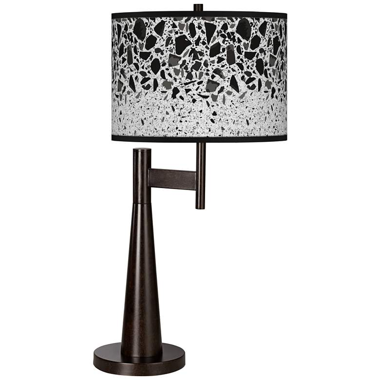 Terrazzo Giclee Novo Table Lamp