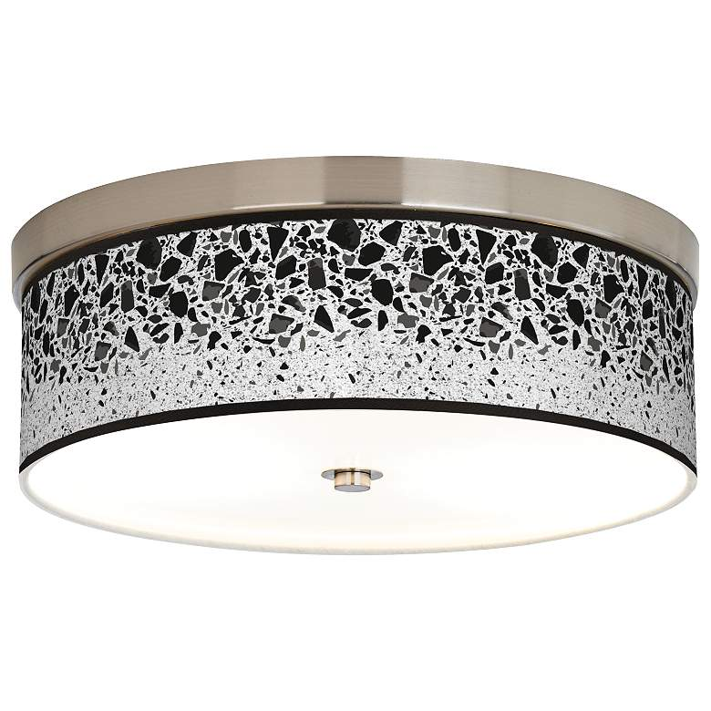 Terrazzo Giclee Energy Efficient Ceiling Light
