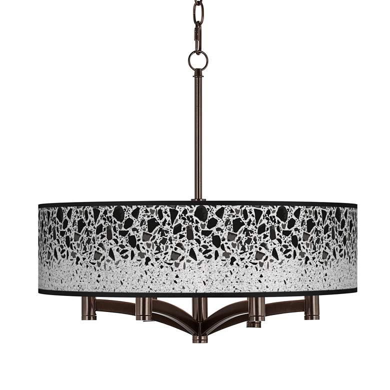 Terrazzo Ava 6-Light Bronze Pendant Chandelier